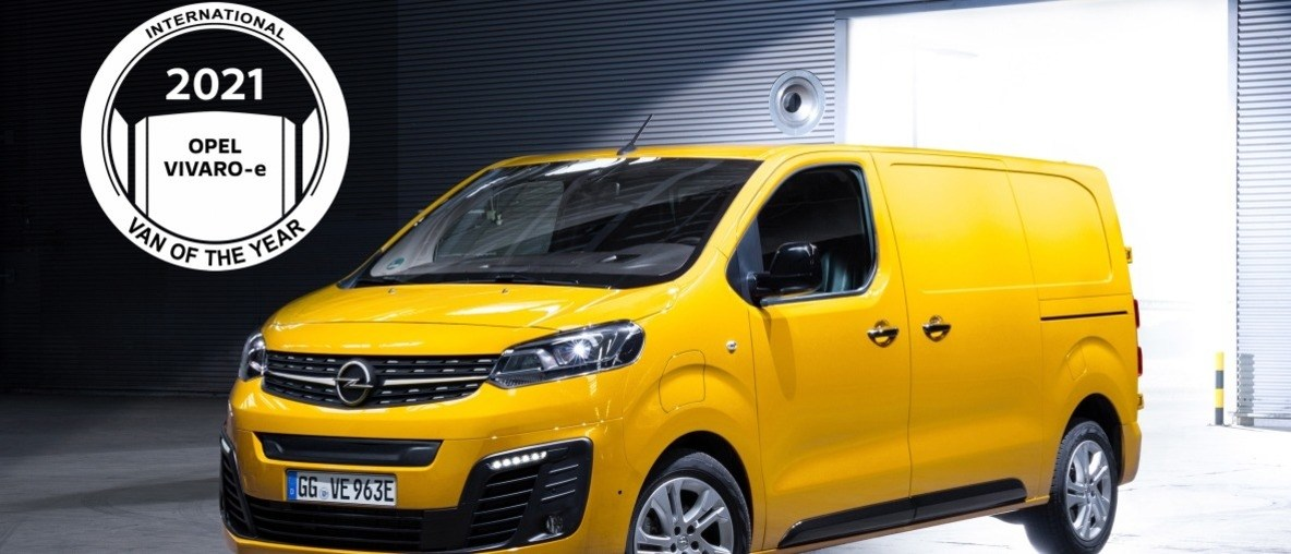 "Der neue Opel Vivaro-e ist der ""International Van of the Year 2021"""