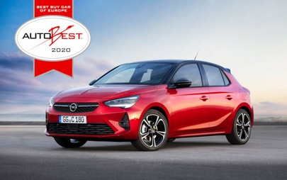 """Best Buy Car of Europe 2020"": Neuer Opel Corsa und Corsa-e gewinnen AUTOBEST-Award"